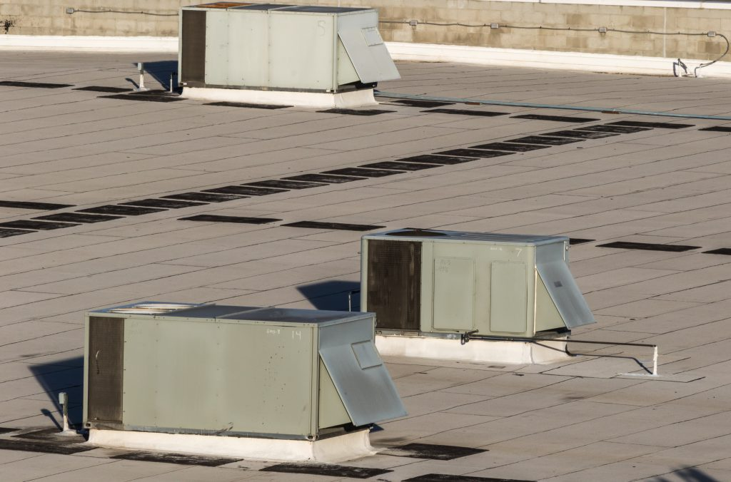 commercial heating and cooling rooftop unit maintenance