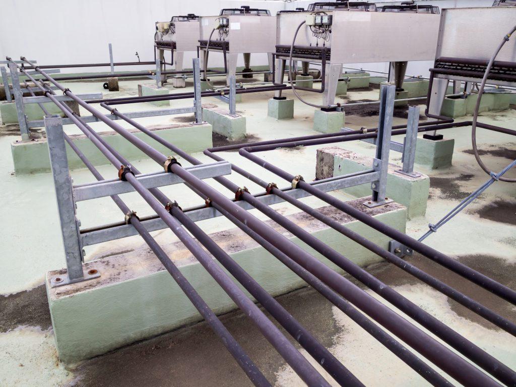 commercial refrigeration remote condenser maintenance