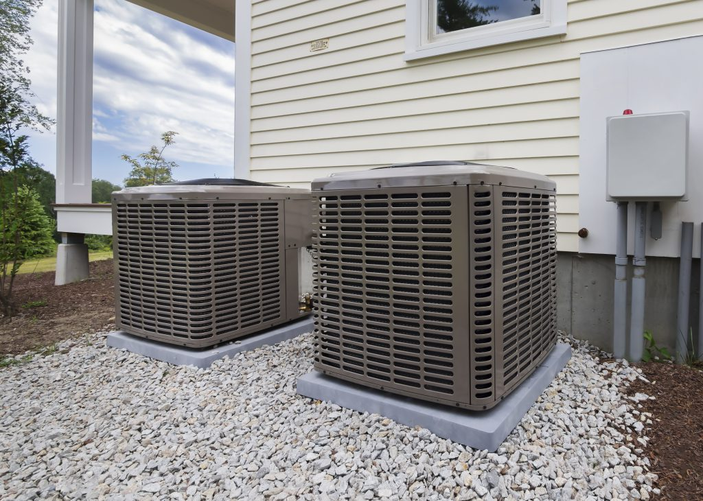residential heating cooling air conditioning installation