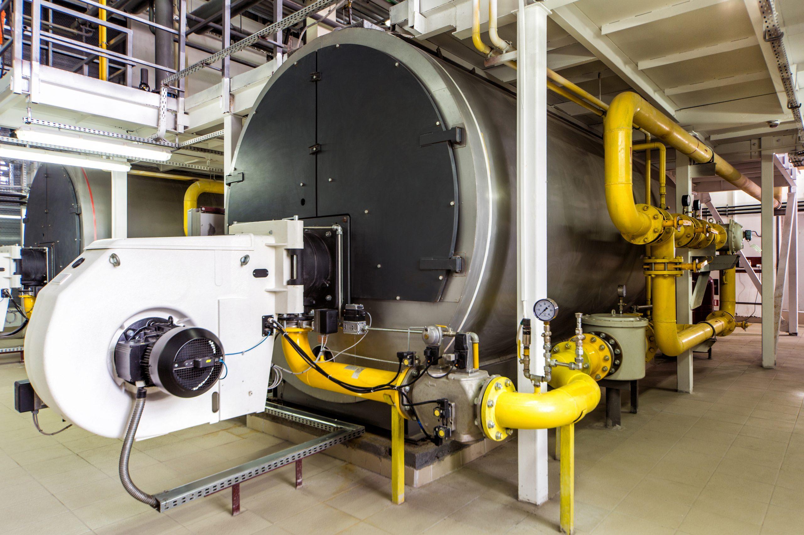 commercial fire tube steam boiler heat